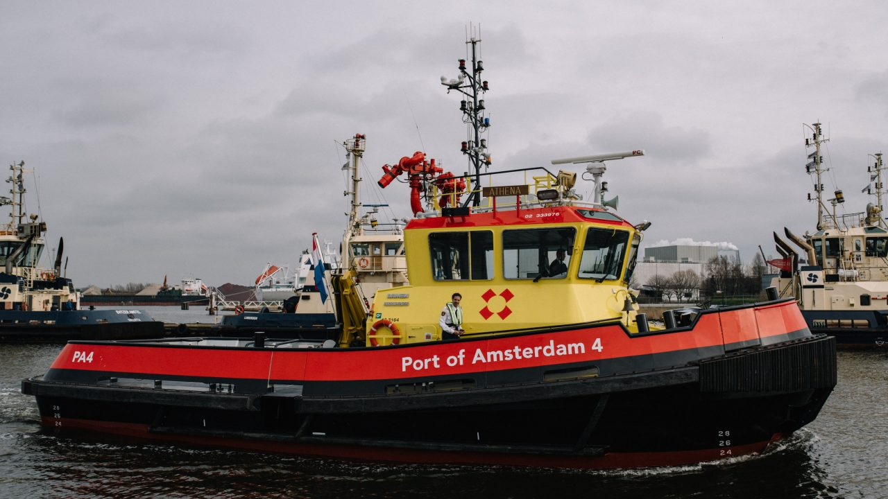 Havenbeambte - Port of Amsterdam